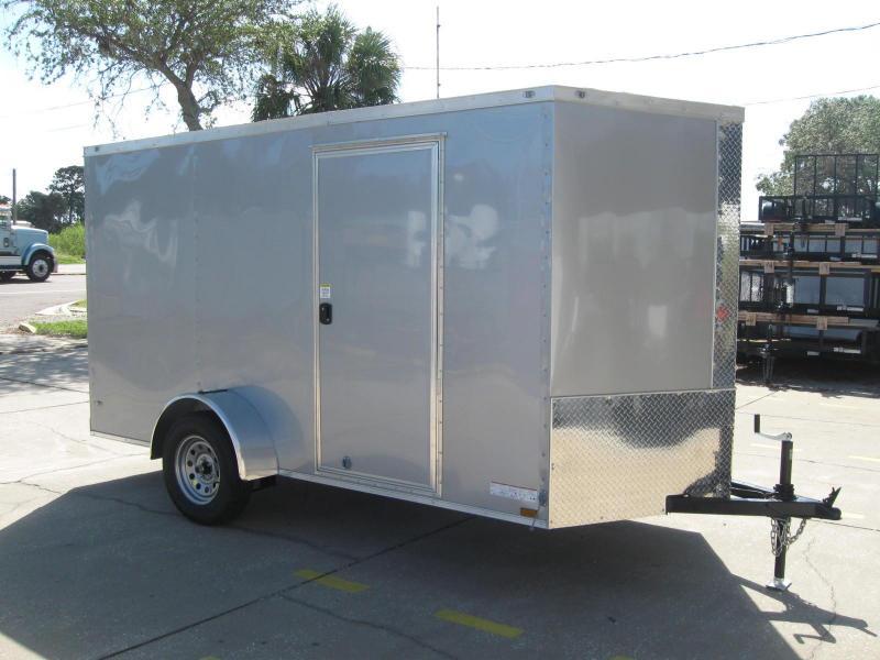 6X12 Trailer V-Front Enclosed Cargo Trailer in Ashburn, VA