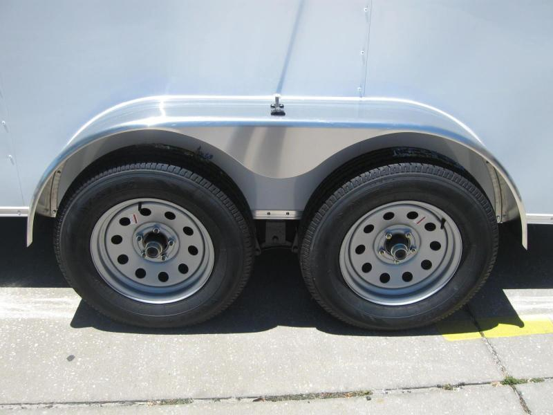 6x12 Trailer Therma Cool V-Front Tandem Axle LEDs