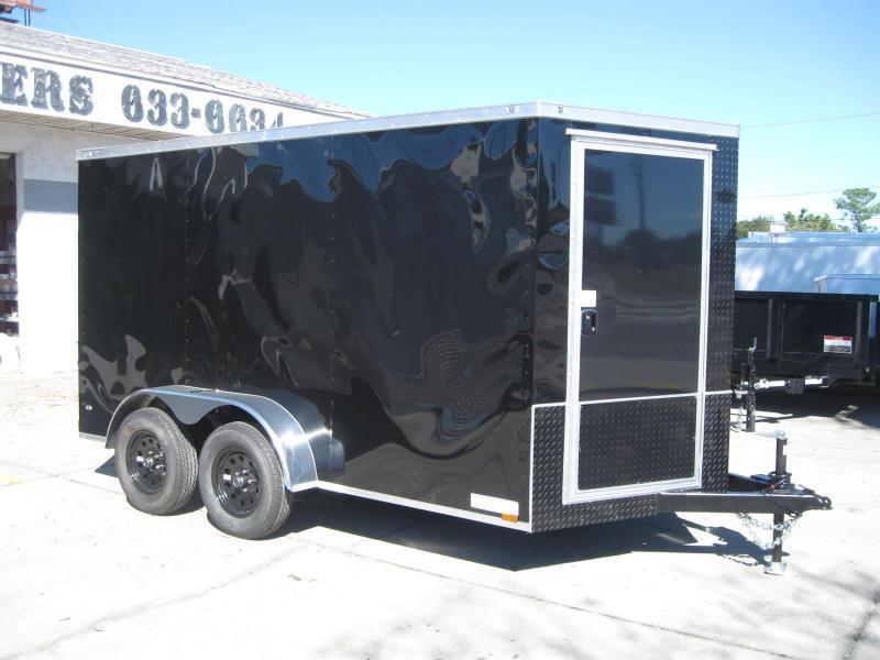 7X12TA-V Motorcycle Hauler Trailer in Ashburn, VA
