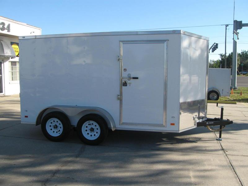 Gold Series 7x12 V-Nose Enclosed Cargo Trailer