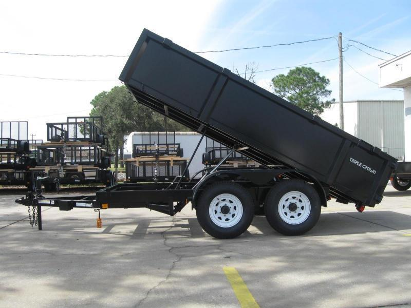 6x12 Dump Trailer 10K 5 Ton