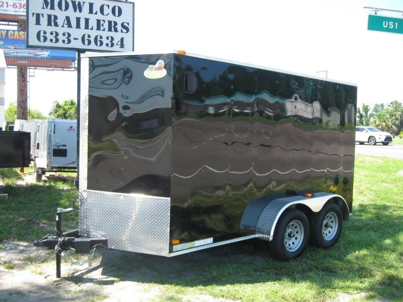 2018 Covered Wagon Trailers 6X12TA-V Enclosed Cargo Trailer