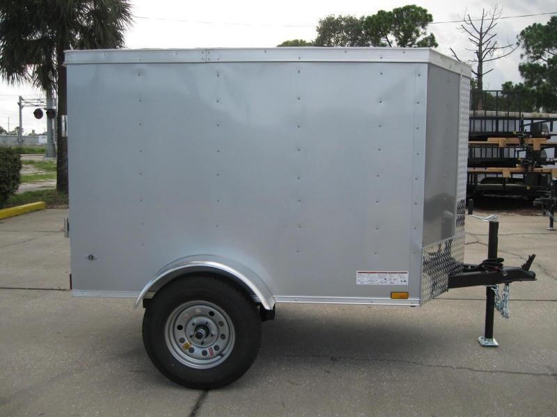 4X6SA-V Enclosed Cargo Trailer in Ashburn, VA