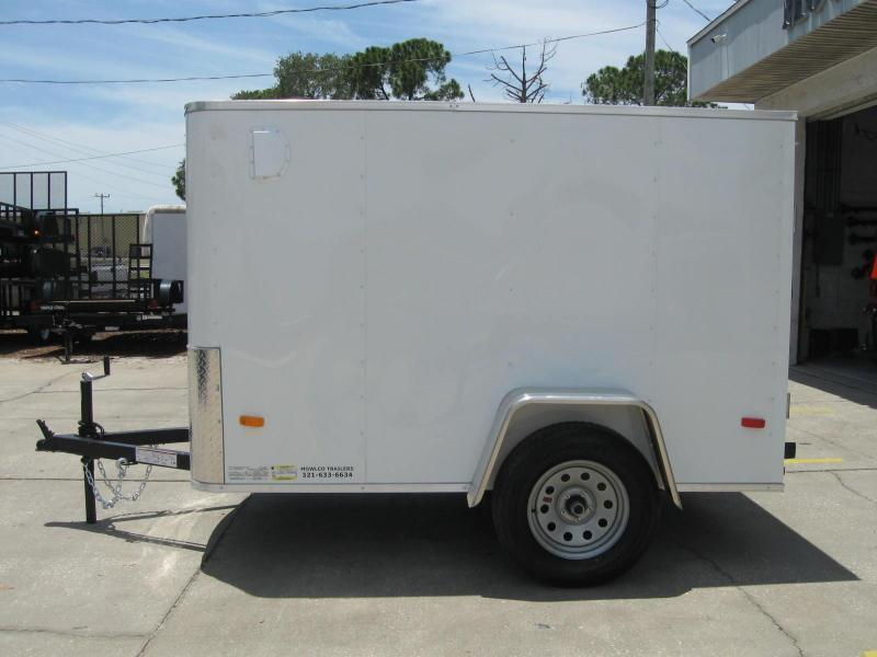 5X8 Enclosed Cargo Trailer SS Model