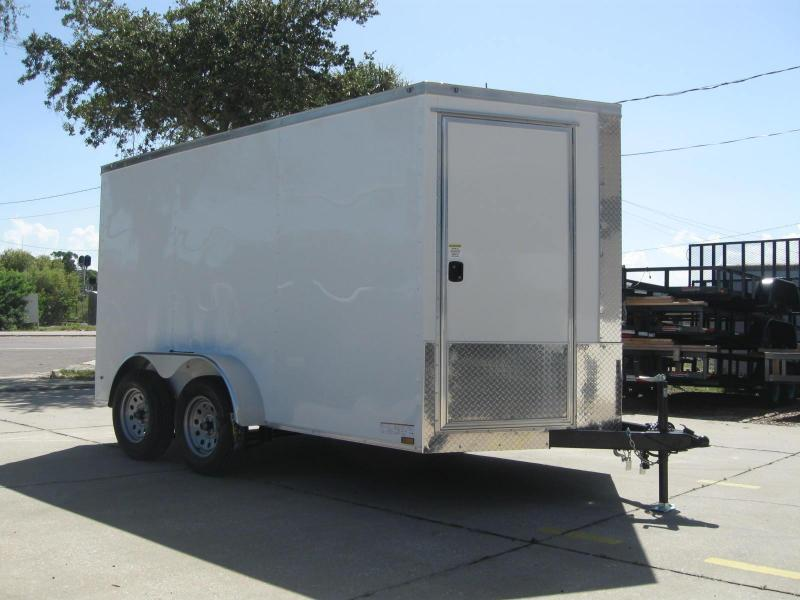 7x12 Trailer Therma Cool V-Nose Enclosed Cargo Trailer