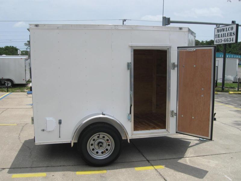 5X8 Trailer V-Nose Enclosed Cargo Trailer in Ashburn, VA