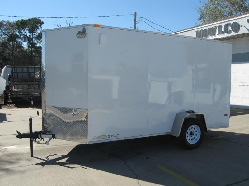 6x12 Trailer BARN DOORS Enclosed Cargo Trailer SS Model