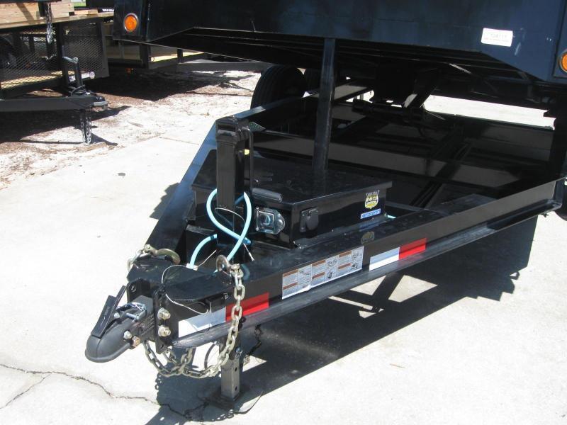 Dump Trailer Load Trail 7x14 HD 14K / 7 Ton