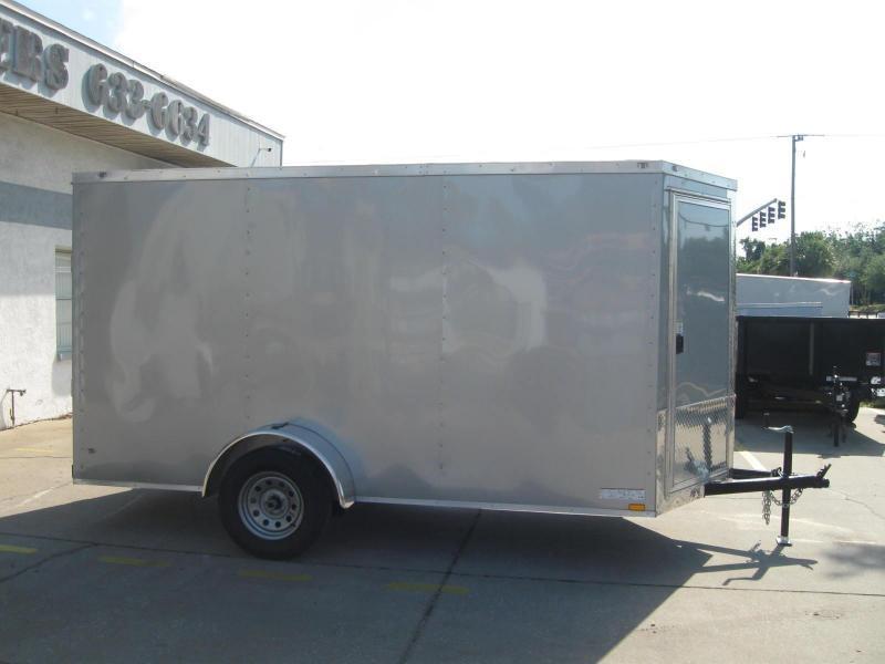 NEW 2019 Anvil 6X12 V-Front Enclosed Cargo Trailer