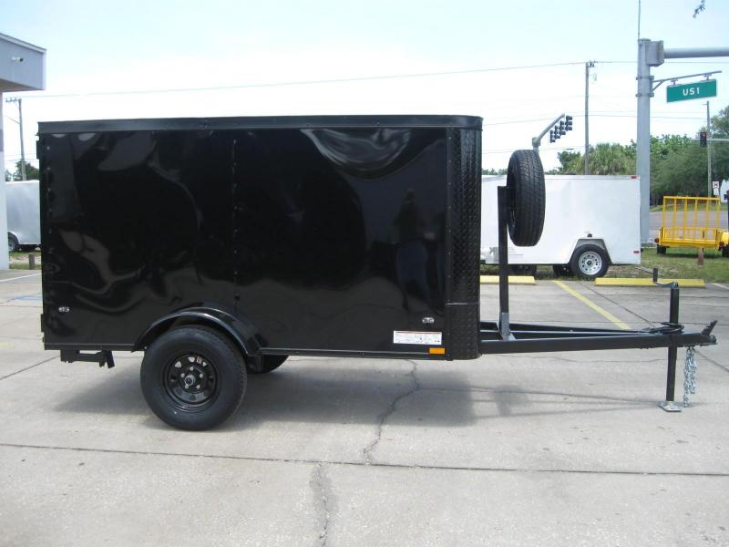 CUSTOM 4x8 Enclosed Cargo Trailer in Ashburn, VA