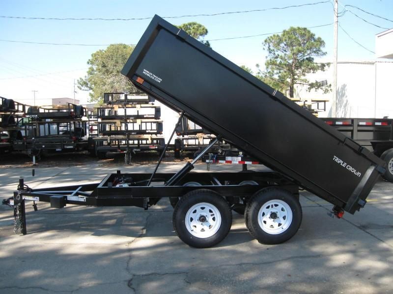 6x10 Dump Trailer 7K  / 3.5 Ton BYOB