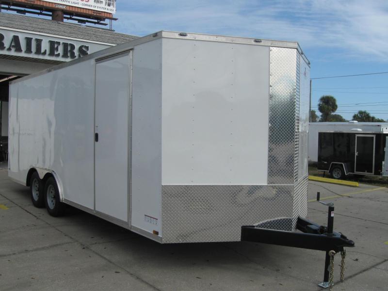 8.5X20 V-Nose Enclosed Cargo Trailer in Ashburn, VA