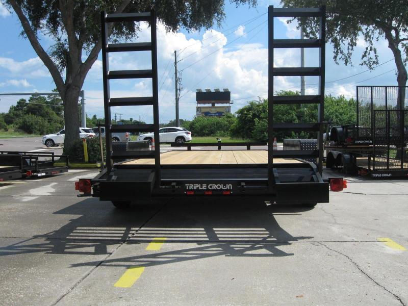 7x18 Equipment Trailer Low Rider 10K / 5 Ton