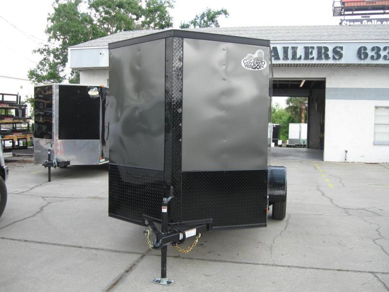 2018 Covered Wagon GM610SAV Enclosed Cargo Trailer