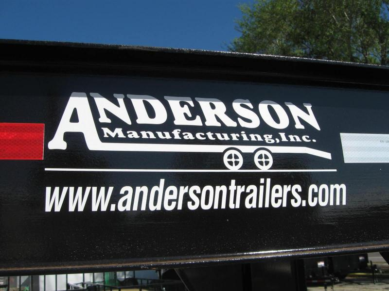 8.5x25 Gooseneck Equipment Trailer Anderson G82510TW