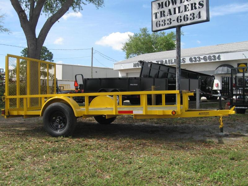 6.5x12 Anderson Utility Landscape Trailer LEDs in Ashburn, VA