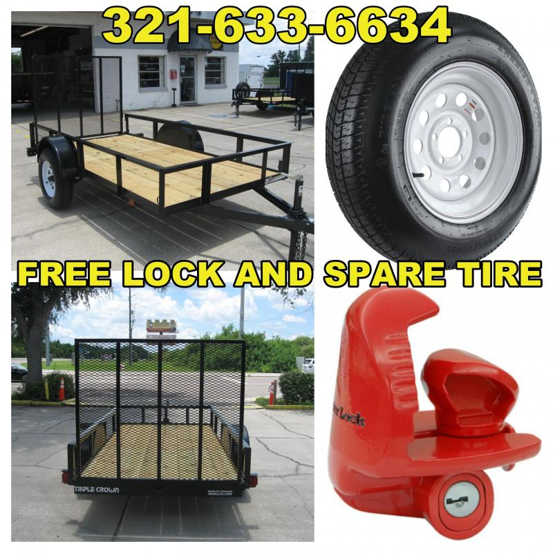 5x10 Trailer with FREE Spare Tire and Lock in Ashburn, VA