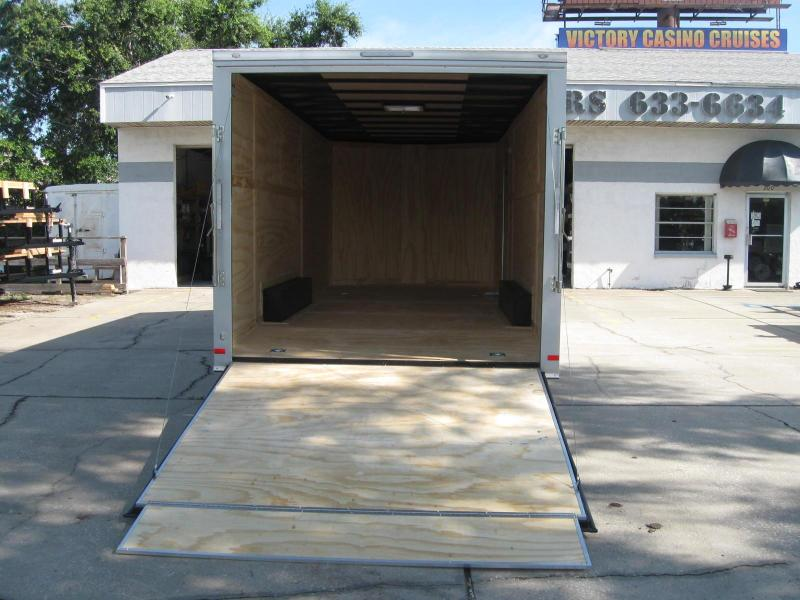 2018 Covered Wagon GM8.5X20TA-10K Enclosed Cargo Trailer