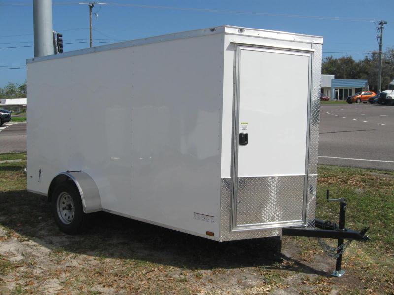 6x12 Barn Doors Enclosed Cargo Trailer in Ashburn, VA