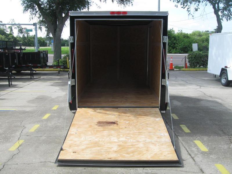 6x10 V-Nose Enclosed Cargo Trailer