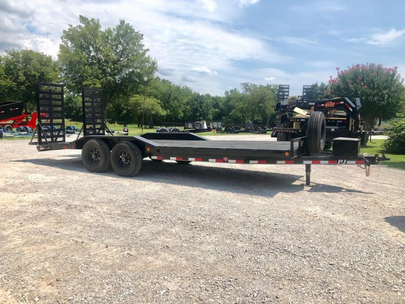 "2018 Pre-Owned PJ Trailers 22' x 102"" Super-Wide (B6) Equipment Trailer"
