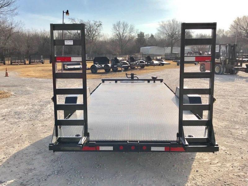 """2019 MAXXD 20' x 83"""" Equipment Hauler Steel Floor 14K"""