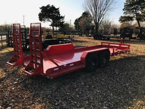 "2019 MAXXD 20' x 81"" Skid-Steer Hauler"
