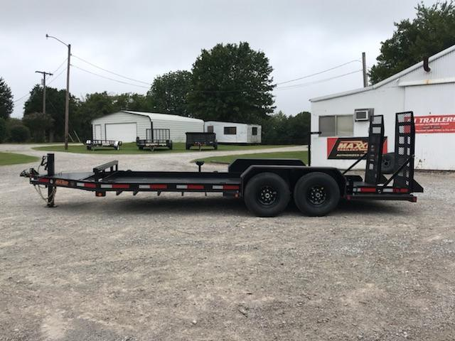 "2019 MAXXD 18' x 81"" Skid-Steer Hauler"