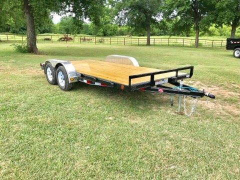 "2019 PJ Trailers 16' x 4"" Channel Carhauler"