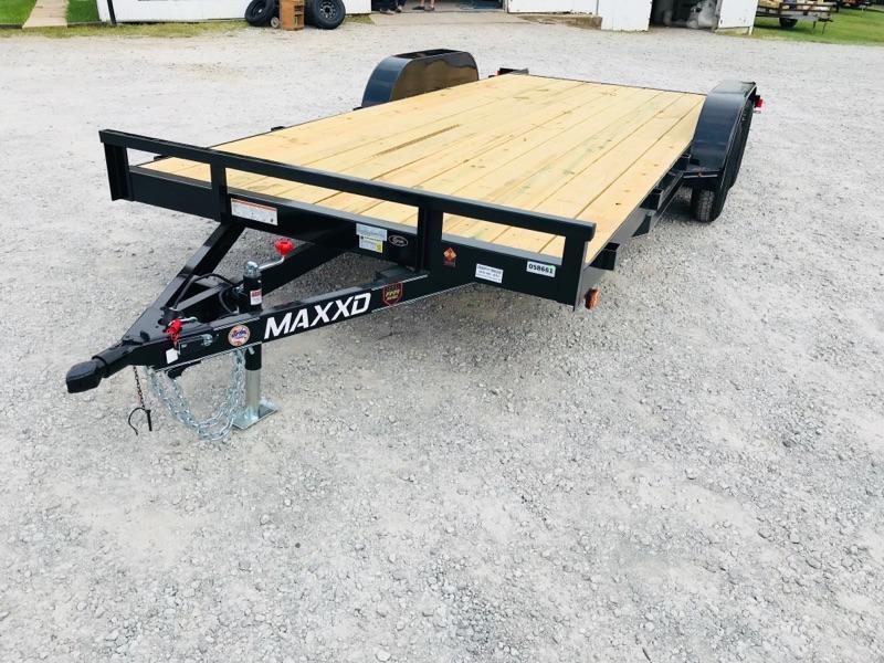 "2018 MAXXD 18' x 83"" Angle Carhauler 7K"