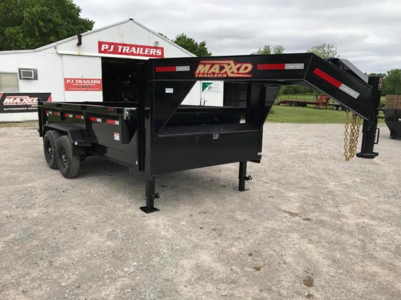 2019 MAXXD 14' x 7' GN I-Beam Low-Pro Dump 14K