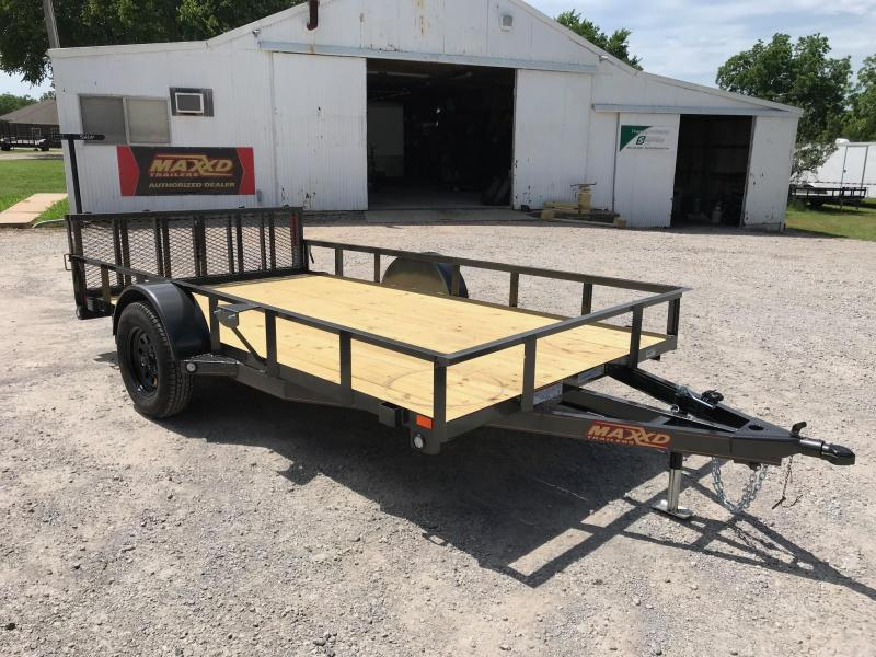"2019 MAXXD 12' x 77"" Single Axle Utility"