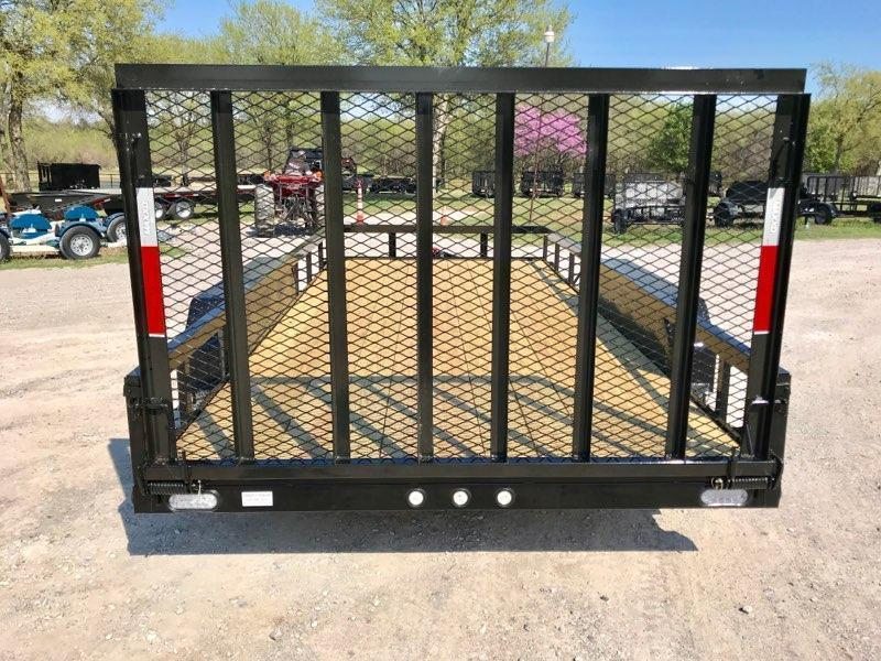 "2019 MAXXD 16' x 83"" Pipe-Top Utility W/ Gate"