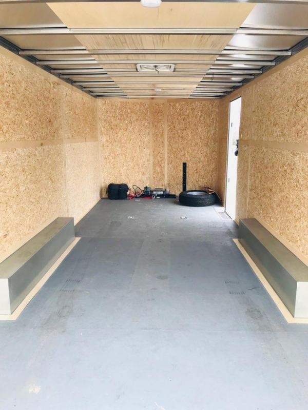 "2016 Wells Cargo 20' X 8.5' X 6'6"" Road Force Enclosed Cargo Trailer"