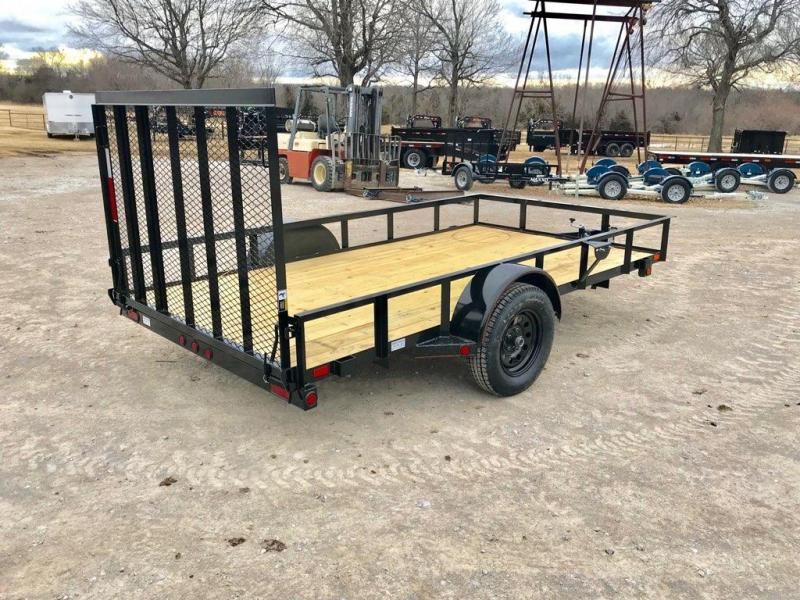"2019 MAXXD 12' x 77"" Single Axle Utility Trailer"