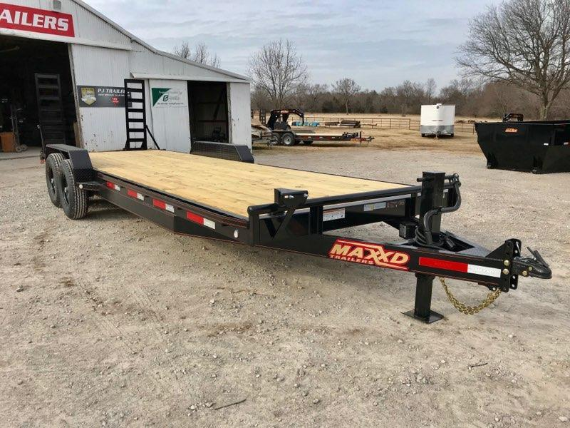 "2019 MAXXD 24' x 83"" Equipment Hauler 14K"