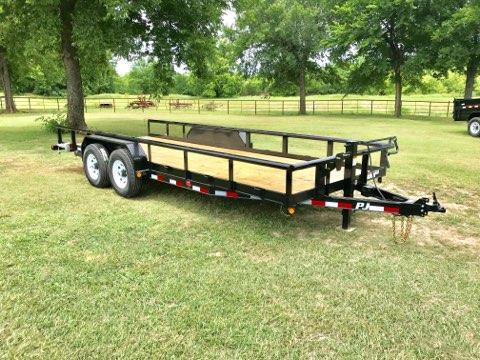 2019 PJ Trailers 20' Pipetop Equipment Hauler 14K