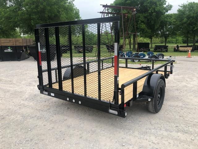 "2019 MAXXD 10' x 77"" Single Axle Utility"