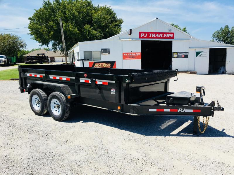 2019 PJ Trailers 14' x 7' Low-Pro Dump Trailer