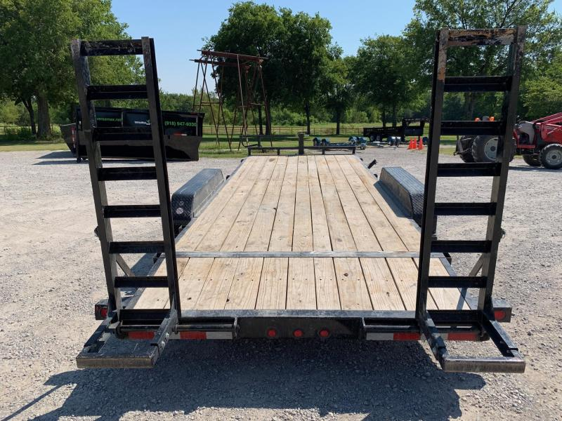 2015 Big Tex Trailers 14ET-20BK Equipment Trailer