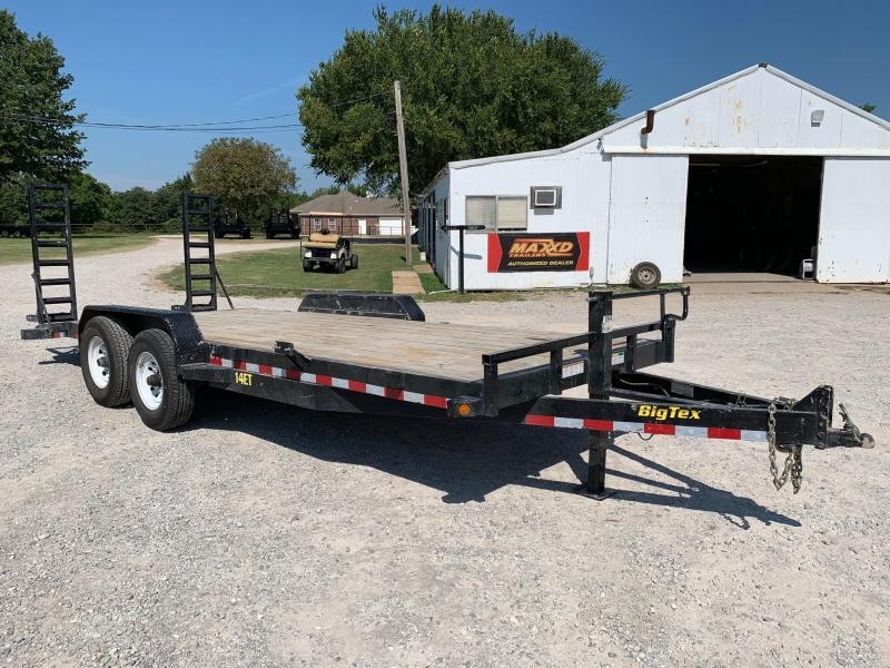 2015 Big Tex Trailers 14ET-20BK Equipment Trailer