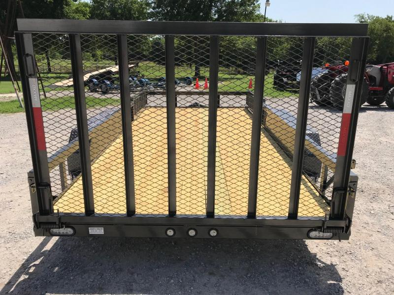 2019 MAXXD 16ft x 83in Angle Utility W/ Gate And Side Load