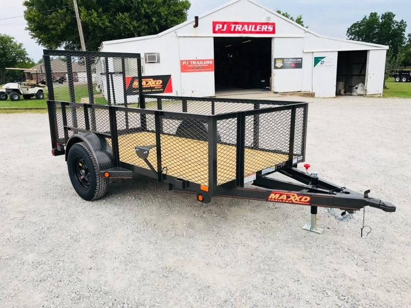 2018 MAXXD 5' X 10' Single Axle Landscape Trailer