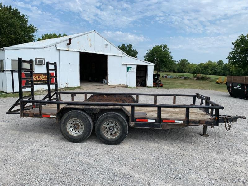 "Used 16' x 83"" Equipment Hauler"