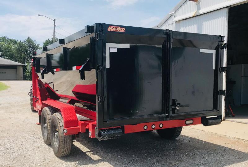 2019 MAXXD ROX8314G Roll-Off Dump Trailer