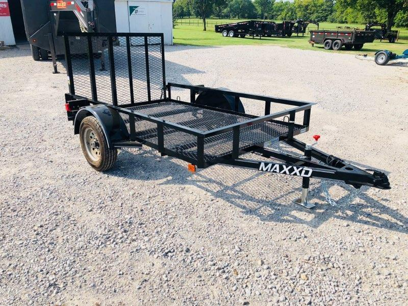 2019 MAXXD 5' X 8' White Series 2K Single Axle Utility
