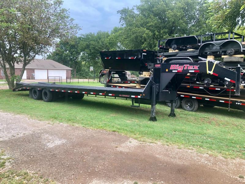 2007 Big Tex 35' Low-Pro Tandem Dual Flatbed