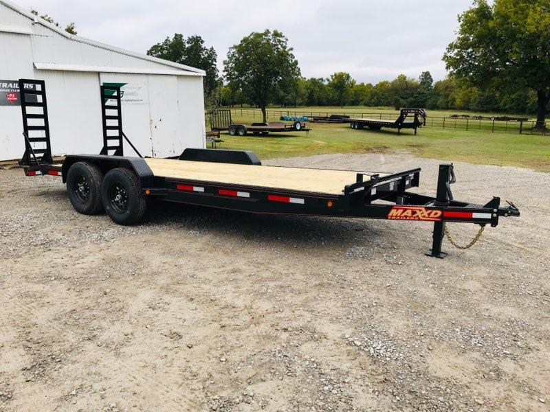 "2019 MAXXD 20' x 83"" Equipment Hauler 14K"