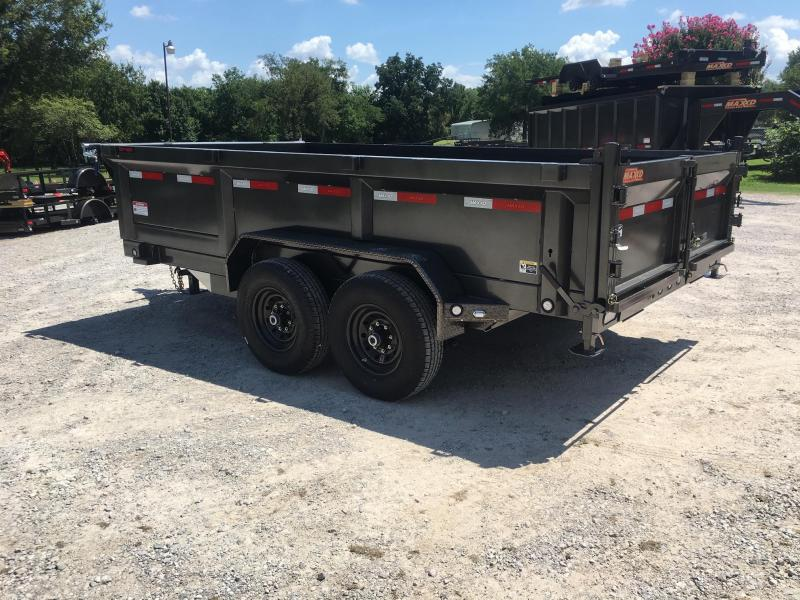 "2020 MAXXD 14' x 7' HD Dump (Larger Cylinder/12"" o/c Crossmembers)"