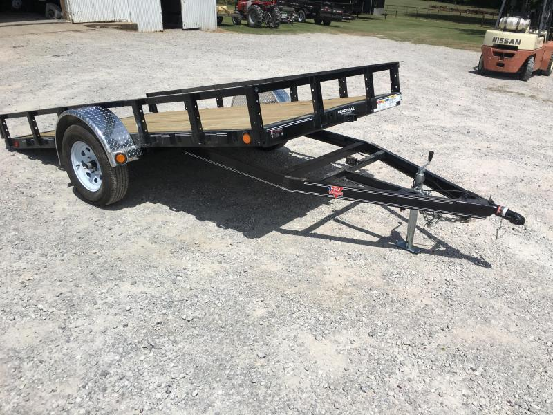 "2019 PJ Trailers 12'x72"" Sngl Axle Channel Utility Tilt"